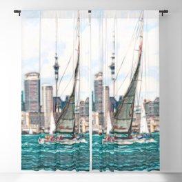 Auckland Harbour Blackout Curtain