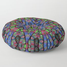 Kinetic Colors 4-41 Floor Pillow