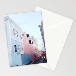 PASTELS IN SAN JUAN Stationery Cards