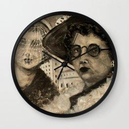 Vintage Ladies Wall Clock