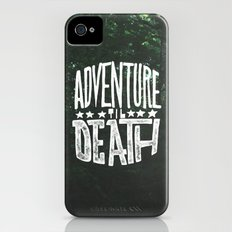 Adventure 'til Death iPhone (4, 4s) Slim Case