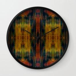 Ethnic colors 3  Wall Clock