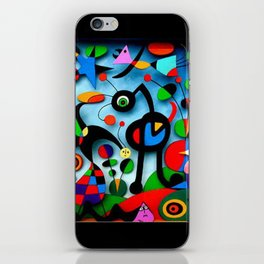 The Garden by Miro iPhone Skin