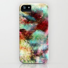 Passionate Flowers iPhone Case