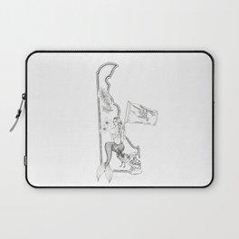 Delaware Mermaid Laptop Sleeve