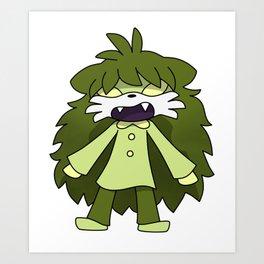 The Demon - Official Character Art Art Print