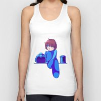 megaman Tank Tops featuring Megaman II  by Magnta