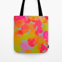 community Tote Bags featuring COMMUNITY by Rebecca Allen