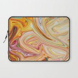 artistic colorful liquid painting Laptop Sleeve