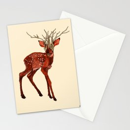 Babes in Woodland (Fawn) Stationery Cards