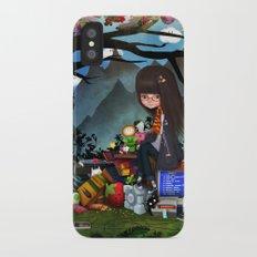 Nrrrd Grrrl iPhone X Slim Case