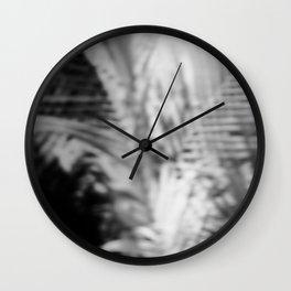 Abstract Palm Wall Clock