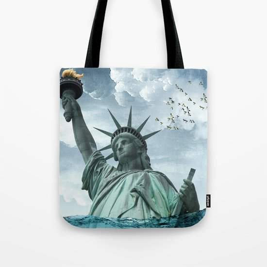 the water line Tote Bag