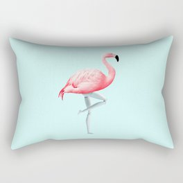 FLAMINGO MANNEQUIN Rectangular Pillow