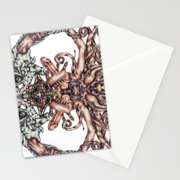 """""""Sexually Liberated Unicorn Trap"""" Stationery Cards"""