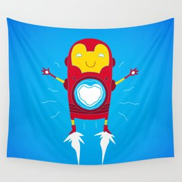 Heart Reactor Wall Tapestry