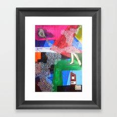 La mano Framed Art Print