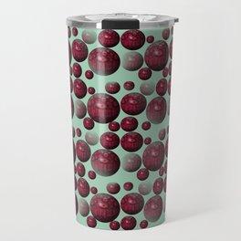 Jamun - Bubble beads J of Alphabet collection Travel Mug