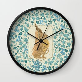 Mythical Beast 2 Wall Clock