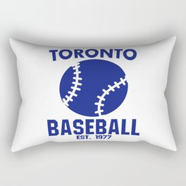Toronto Baseball Baseball Bat USA Rectangular Pillow