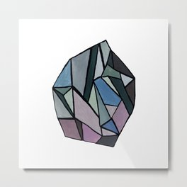 DIAMOND 4 Metal Print