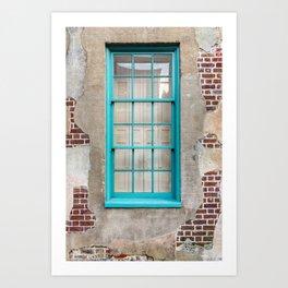 Frame within Frame Art Print