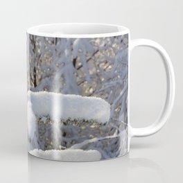 Snow on tree Coffee Mug