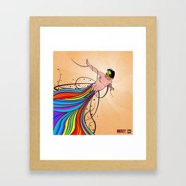 Fly C'mon! Framed Art Print
