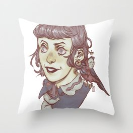 Light Witch Throw Pillow