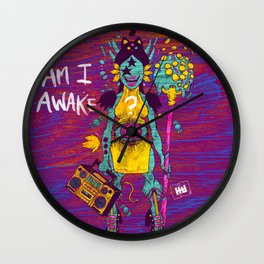 AMI AWAKE Wall Clock