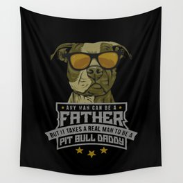pit bull daddy Wall Tapestry