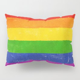 Gay Pride Flag Pillow Sham