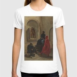 Edwin Blashfield - The Artist Paints the Church T-shirt
