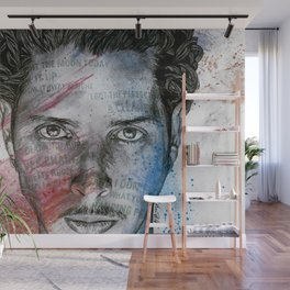 Pretty Noose: Red & Blue: Tribute to Chris Cornell Wall Mural