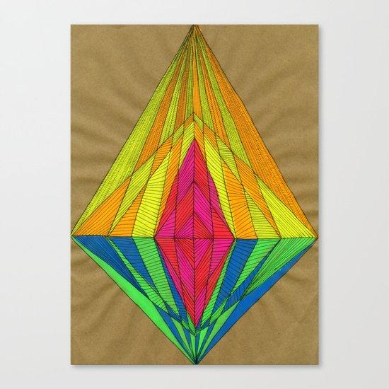 Diamond Light Canvas Print