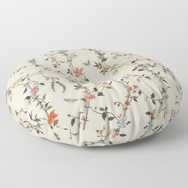 Floral Piece late 18th century Chinese for French market Floor Pillow