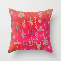 Tribal Sparkle  Throw Pillow
