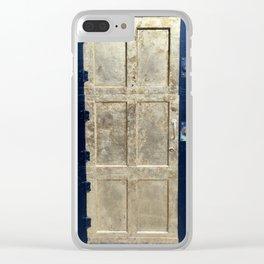 Golden Door Clear iPhone Case