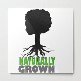 naturally grown Metal Print