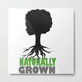 naturally grown Metal Print