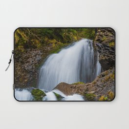 Cascada Valul Miresei, Romania Laptop Sleeve