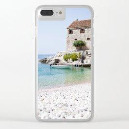 Hvar, Croatia Clear iPhone Case