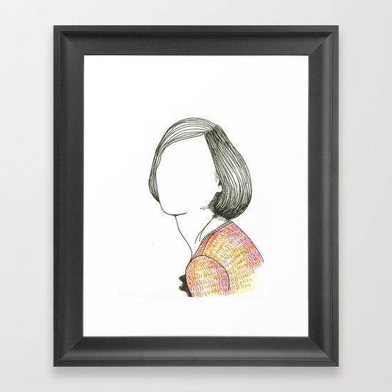 r. Framed Art Print