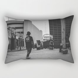 Free Skate Rectangular Pillow