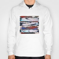 cityscape Hoodies featuring Cityscape  by MonsterBrown