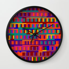 Beethoven Moonlight Sonata (Jewel Tones) Wall Clock