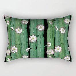 Cacti Cereus with flowers Rectangular Pillow