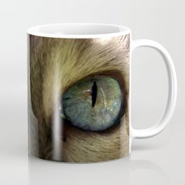 Cat's Eye Spy Coffee Mug