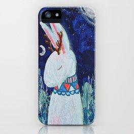 Moon Jackalope iPhone Case