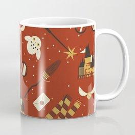 Wizarding Pattern Coffee Mug